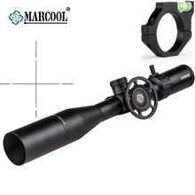 цены MARCOOL ALT 4.5-18X44 SFL Tactical Hunting Riflescopes Real Fire Airsoft Rifle Guns Optical Sight Scopes For Air Rifle Hunting