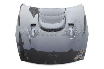 Accesorios de coche de fibra de carbono estilo MS capó con ventilación ajuste para 2008 2014 R35 GTR GTR35 Hood Car styling|carbon bonnet|carbon fiber hood|bonnet carbon fiber -