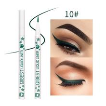 Colorful Waterproof Fast Dry Liquid Eyeliner Matte Eye Liner Pencil Thin Head Pen Make Up Beauty Tool R6
