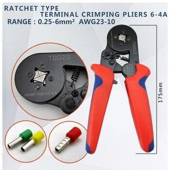HSC8 6-4 0.25-6mm 23-10AWG, 10 S 0.25-10mm 23-7AWG Terminal Krimpen Tang Crimp Tang Tool Buis Terminals Crimper Tool