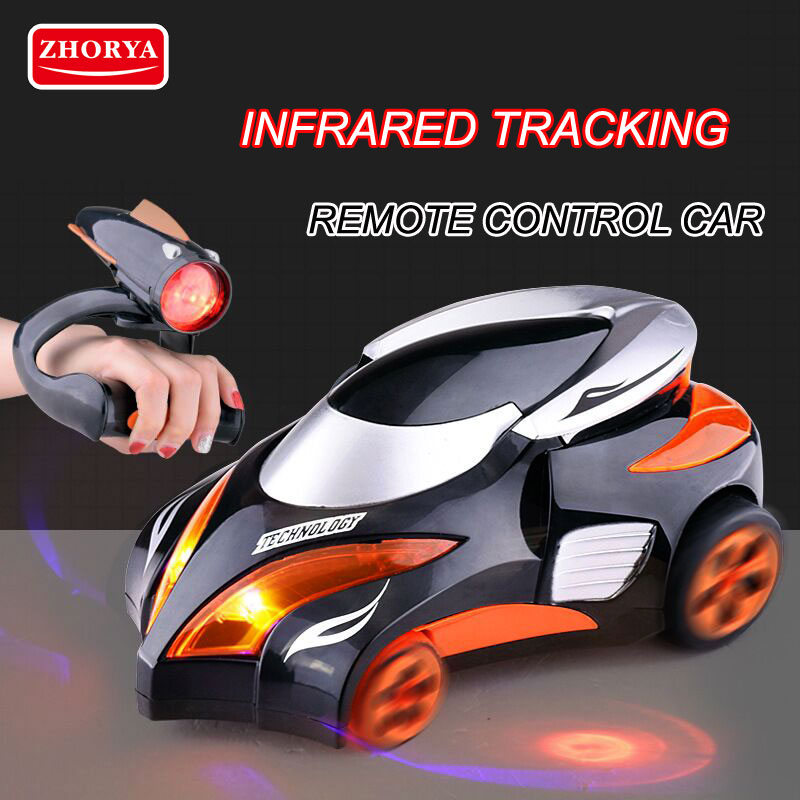 Zhorya Toys RC Car Machines on the Control Panel Zero Gravity wireless Remote Control Electric Toy Birthday Gifts for Children