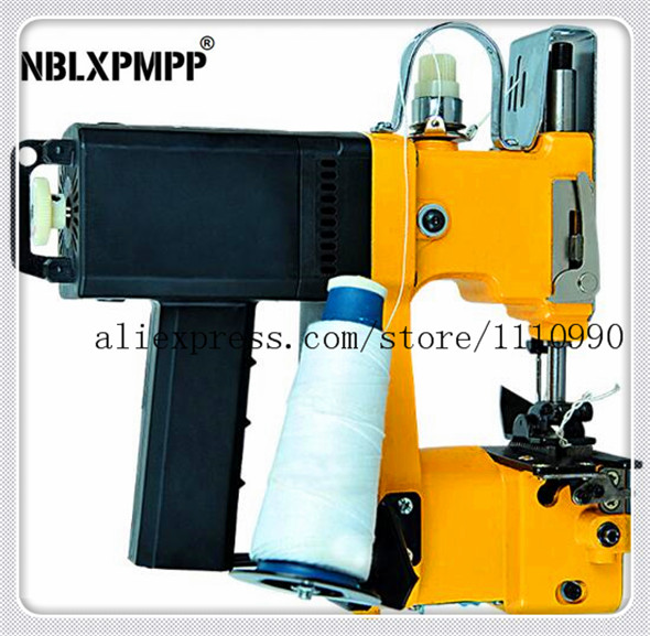 цена на Ningbo Luoxin Lowest Factory Price Highest Quality Portable Electric Sewing Packing Sealing Woven Machines Bag Closer Stitching