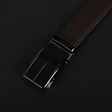 Automatic Buckle Genuine Leather Black / Brown Belt