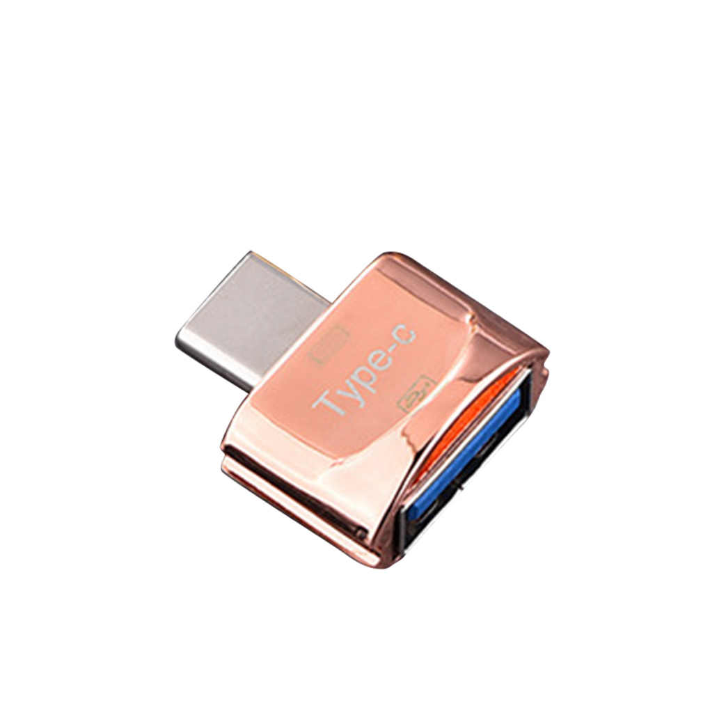 Mini Hohe Übertragung Geschwindigkeit USB 3.1 Telefon Kamera TF Speicher Kartenleser OTG Adapter Typ-c Port