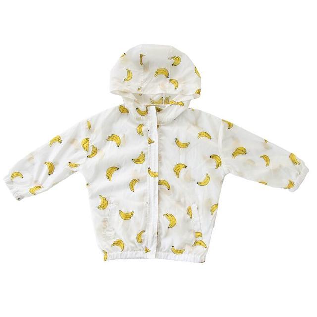 6e302068a Summer Infant Baby Boys Watermelon Hooded Girls Coat Children Kids ...