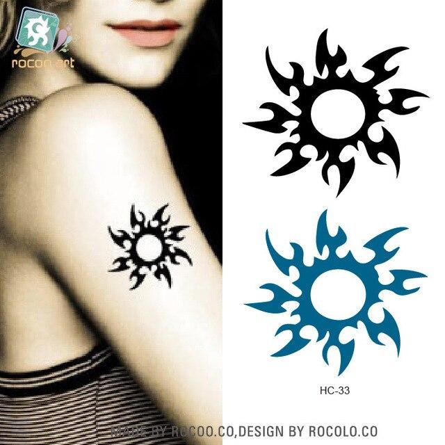 2 Pcs Lots Accessoires Etanches Tatouage Autocollants Et Peu Frais