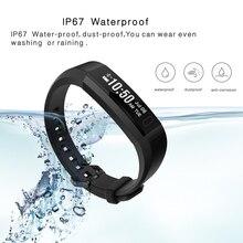 Фустер IP67 Водонепроницаемый умный браслет ремень Съемный Bluetooth фитнес-Смарт-браслет с Пульс монитор Сенсор браслеты