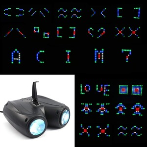 Image 3 - אוטומטי/קול Actived 128 נוריות RGBW אורות מוסיקה בקרת Led שלב אפקט תאורת DJ דיסקו אור לייזר מנורת מפלגה מקרן בר