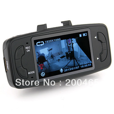 GS9000 Novatek 1080P g-sensor h 264 4X digital zoom 2.7inch LCD car camera recorder