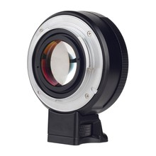 Viltrox Focal Reducer Speed Booster Lens Adapter Turbo w/Aperture Ring for Nikon F Lens to Sony A7RIII A7SII A6300 A6500 NEX-7