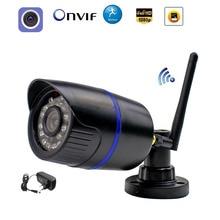 1080P WIFI IP מצלמה אלחוטי 960P 720P ONVIF Wired P2P Bullet חיצוני מצלמה עם כרטיס SD חריץ אבטחת CCTV מעקב CamHi