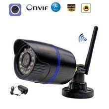 Câmera 1080p wifi ip sem fio, 960p 720p onvif com fio p2p, câmera externa com slot para cartão sd camhi de vigilância segurança cctv
