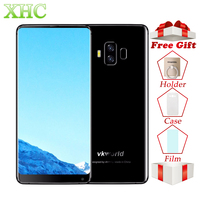 4G VKworld S8 16MP+13MP Cameras Mobile Phones Fingerprint 5500mAh 5.99 inch Full Screen Android 7.0 MTK6750T 4GB+64GB Smartphone