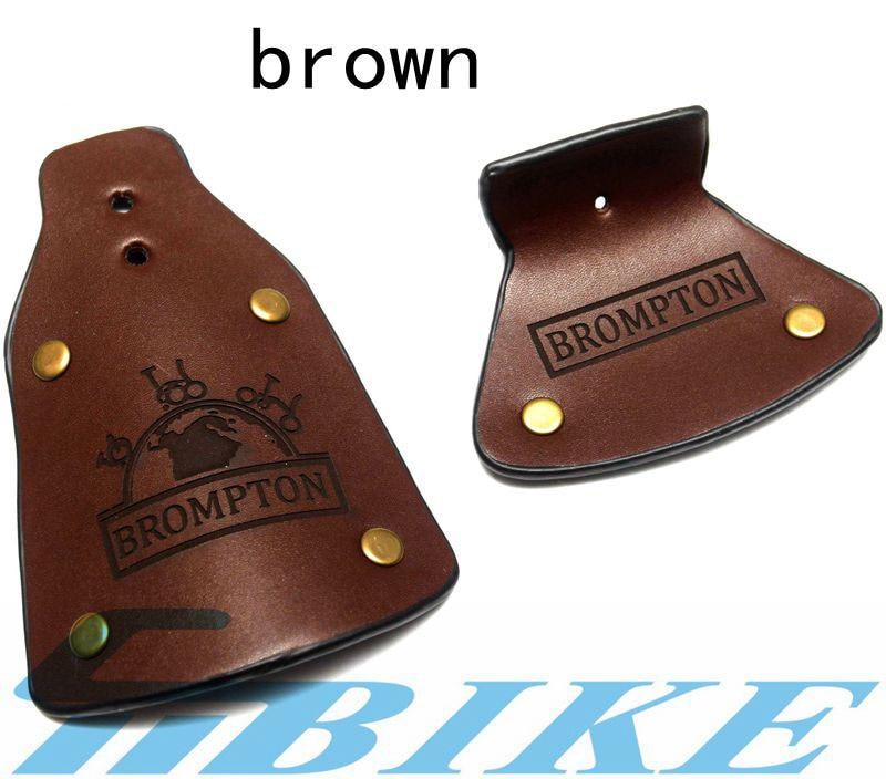 ACE Handmade Leather Mudflap Mudguard for Brompton Bicycle folding bike