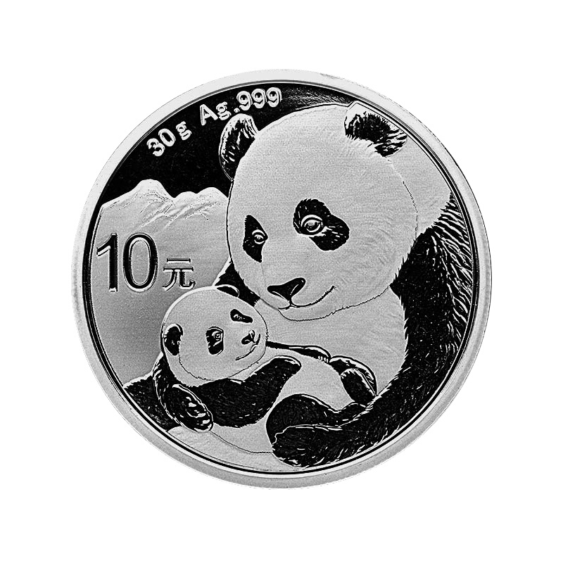China 2019 Panda Coin 30 g 10 Yuan 99 9 fine silver commemorative Coins real from
