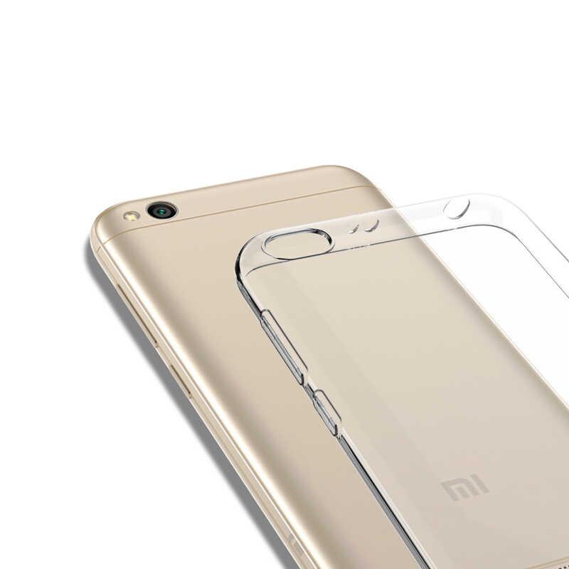 Zachte Transparante Coque Funda Capas Clear Voor Xiao Mi Mi A1 5X Xio Mi Rode Mi Note 4 4X 4A note4X Note 5 Pro 5A 6A Gevallen