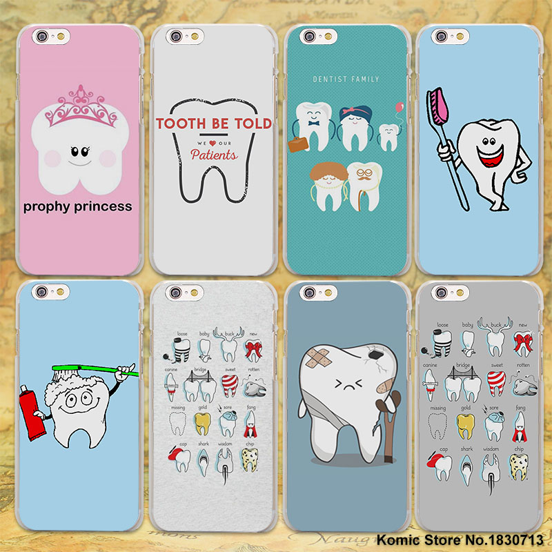 Dental Definitions cute The Tooth Princess hard clear Cases cover for Apple iPhone 7 6 6s Plus SE 4s 5 5s 5c plastic phone case