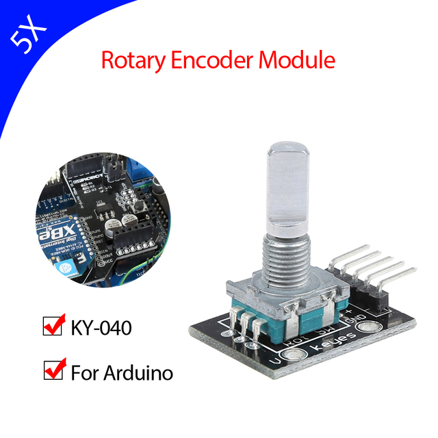 US $11 99 |Keyes KY 040 rotary encoder module for arduino 5pcs/lot-in Demo  Board from Computer & Office on Aliexpress com | Alibaba Group