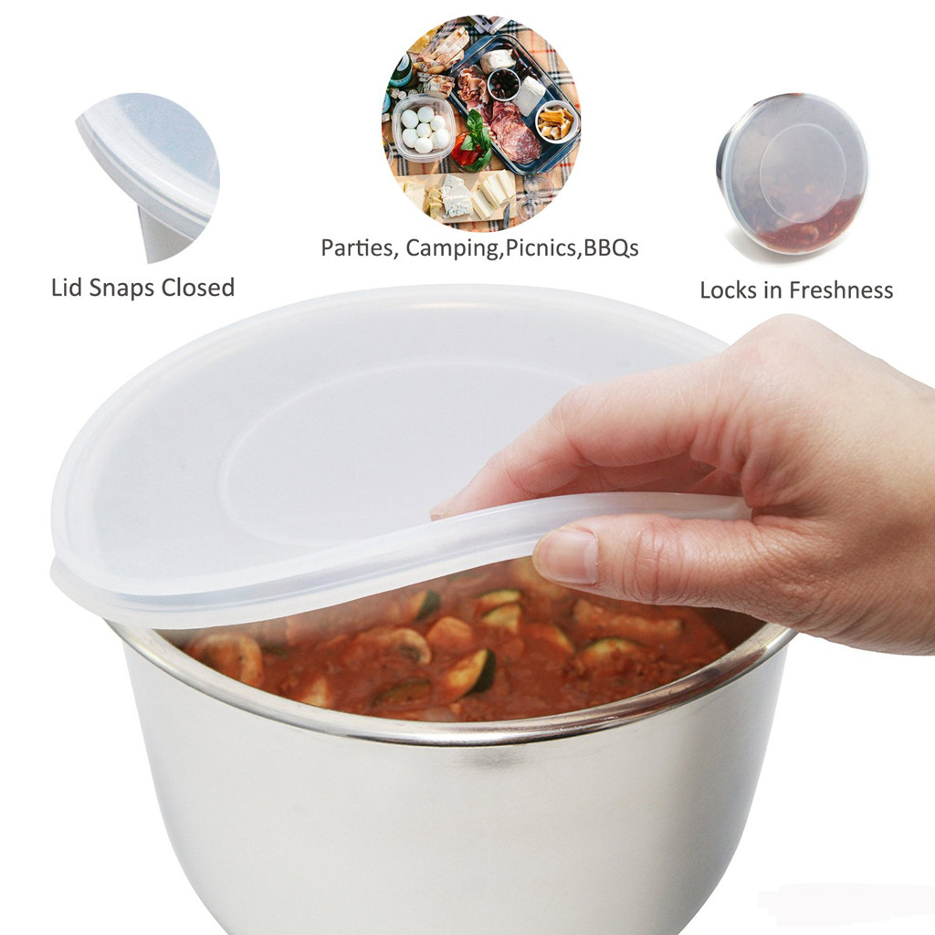 Inner Pot Sealing Cap Fresh Cover Silicone Lid Cover For Instant Pot 6qt tapas de silicona para alimentos taper de comida Hot-in Fresh-keeping Lids from Home & Garden