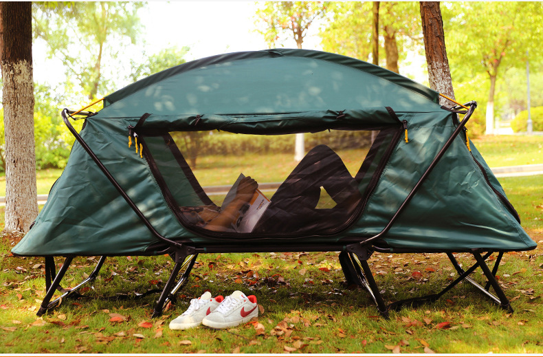 Hot Sale Automatic Smart Tent Off Ground Tent Above Ground WaterProof Outdoor Folding C&ing Bed TentCZ 830B C&ing Bed Tent-in Tents from Sports ... & Hot Sale Automatic Smart Tent Off Ground Tent Above Ground ...