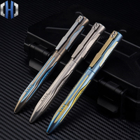 New Titanium Tactical Pen Tungsten Steel Girl Self defense Supplies Defense Tool EDC