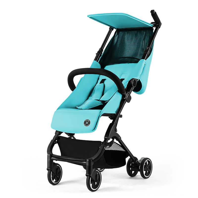 Free shipping i4.8KG light stroller can sit reclining baby pram folded on the plane car portable mini pocket umbrella carriage