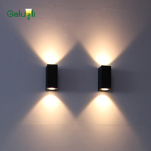 Outdoor Lighting, Indoor And Outdoor LED COB Wall Light, Balcony Corridor Wall Lamp  Stair Up Down Wall Sconce