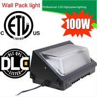 CREE Chip MeanWell Diver Dimming Sensor Outdoor Lighting IP65 13000LM 100W Led Wall Pack Light 5 years warranty DHL