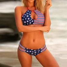 be2e4d632276a (Ship from US) Swim Suit Women Swimwear American Flag Bandage Bikini Set  Push-up Bra Swimsuit Bathing Suit Beachwear feminino 2018 Bikinis