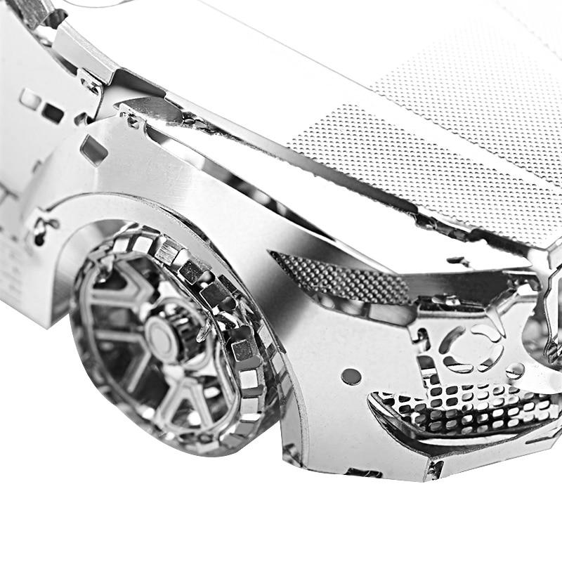 Diy Fun 3D Metal Puzzle Transformer Robot Assembly - ფაზლები - ფოტო 3