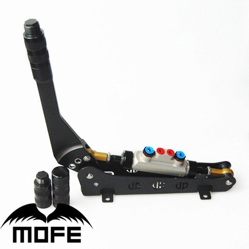 Dérive hydraulique universelle frein à main maître-cylindre double pompe rallye e-frein hydraulique dérive frein à main pour voiture de course