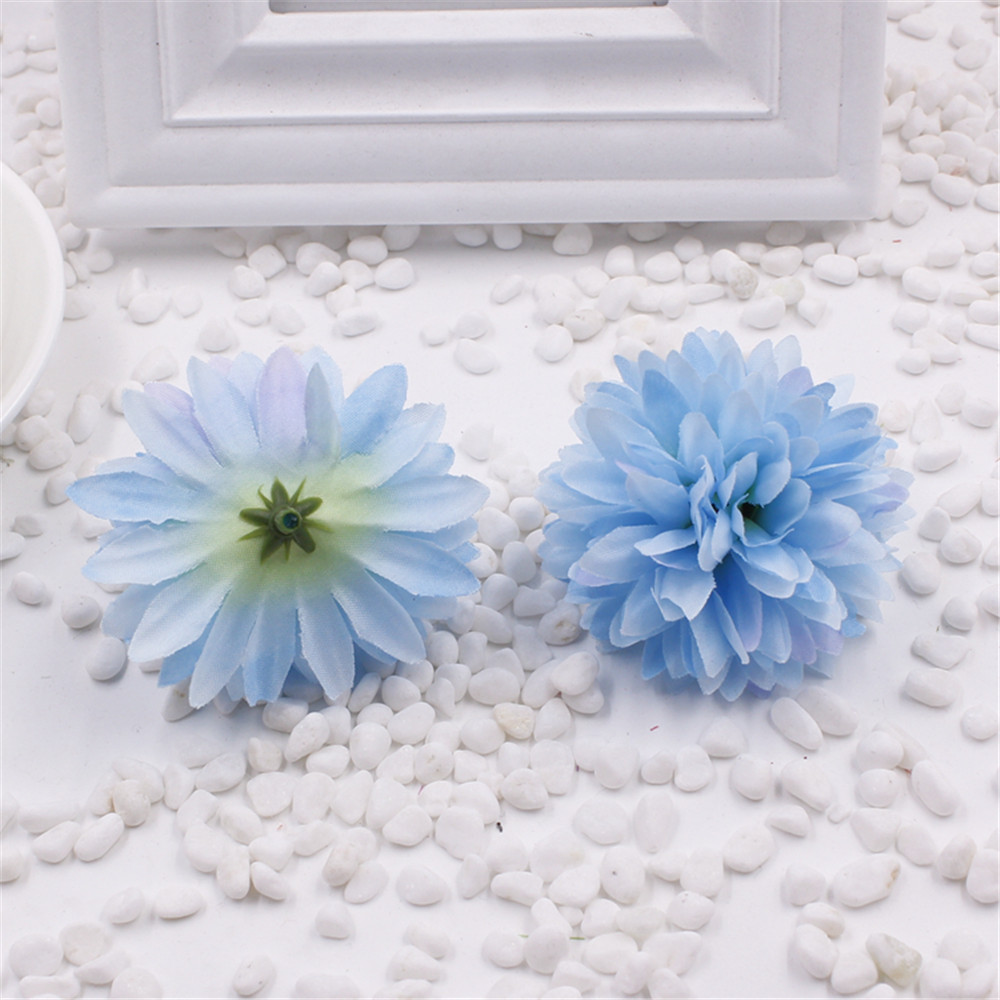 5pcs cheap artificial flower silk bride holding chrysanthemum diy 5pcs cheap artificial flower silk bride holding chrysanthemum diy shoes wedding ball gift box decoration fake flower in artificial dried flowers from home izmirmasajfo Image collections