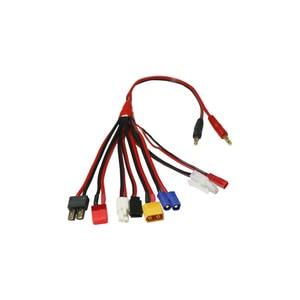 Image 4 - HTRC 19 in 1 şarj kabloları ve 8 1 kabloları IMAX B6 şarj RC parça Lipo pil çok şarj fişi dönüştürme kablo hattı
