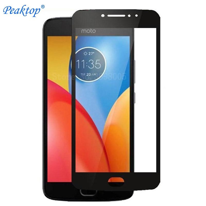 2pcs Tempered Glass For Motorola Moto E4 Plus Screen Protector Motorola Moto E 4 Plus MT6737 XT1773 Full Cover Protective Film