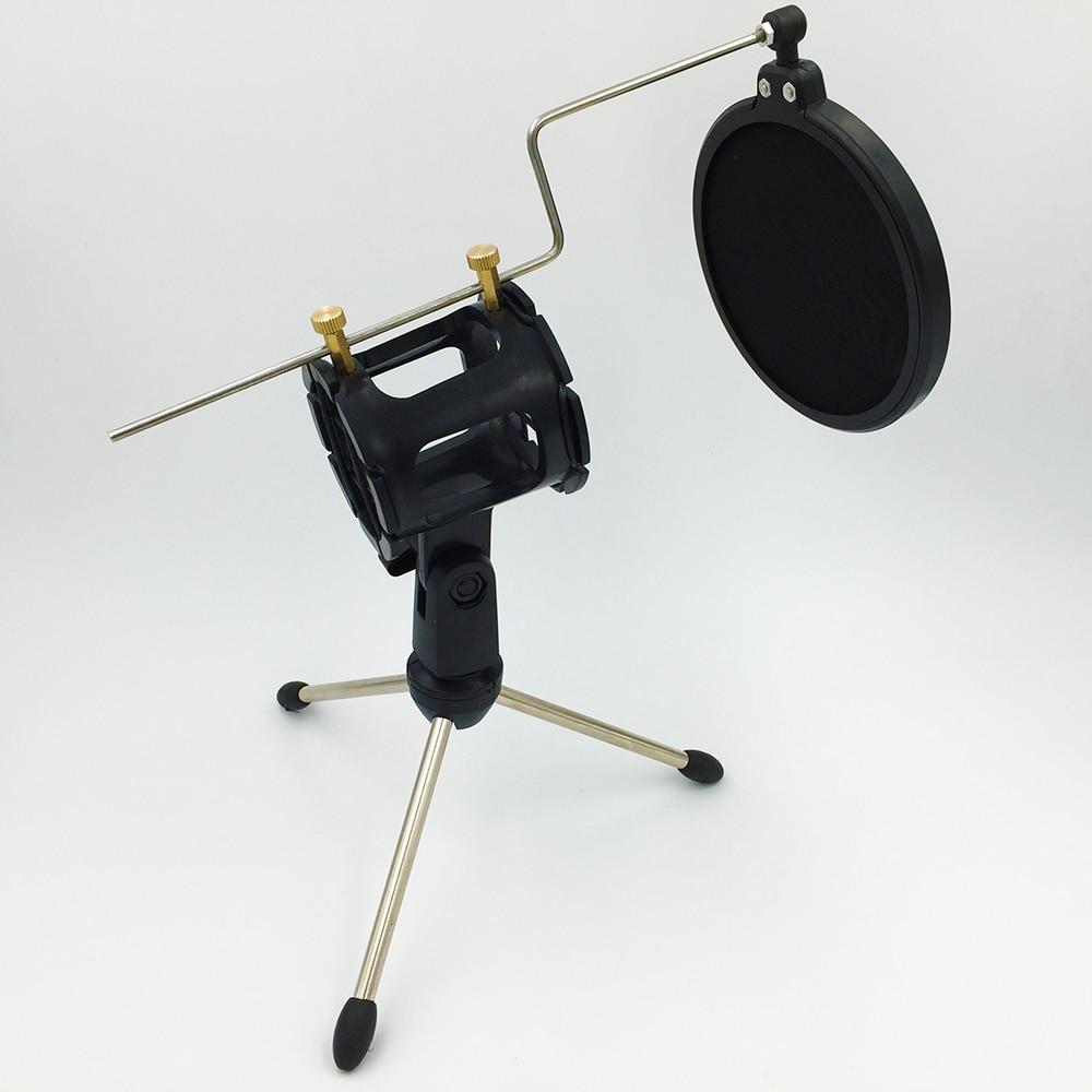 Pop Filter Ps-05 Microfono Verstelbare Bureaublad Statief Studio - Draagbare audio en video - Foto 6