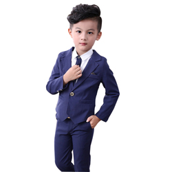 1a46313a0 DE BODA bebé niño ropa chaqueta pantalones 2 piezas niños Formal traje de  otoño niños trajes