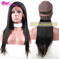 360 Lace Frontal Wig 150% Density Straight Lace Front Human Hair Wigs Pre Plucked Babyhair Full Ends Dreaming Queen Virgin Hair