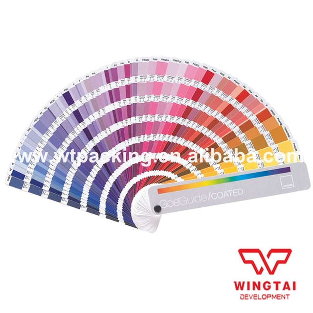 Pantone Color Chart Coated Book GSGS001 Pantone Color Goeguid ...