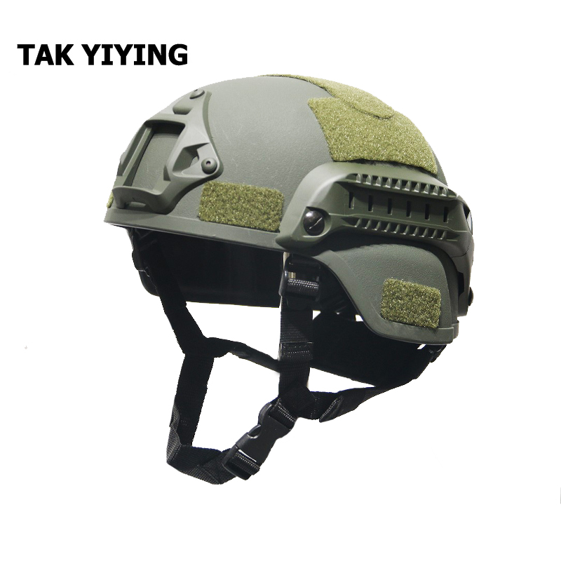 Black Flykee Military Tactical Mich 2000 Helmet Army Combat Head Protector Airsoft Wargame Paintball Field Gear Accessories