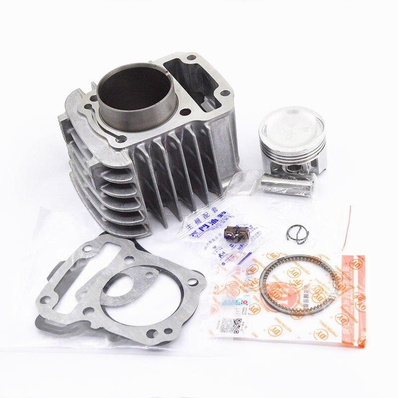 Motorcycle Cylinder Piston Ring Gasket Kit for Honda DREAM 110 EX5 NBC110 NBC 110 Carburetor Fule