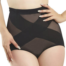 Sexy Slimming High Waist Hips Abdomen Women's Underwear Shapewear Thin Mid-Lumbar Lace Boxers Lingerie Body Shapers slimming N4(China)