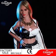 Cosdoll 165cm / 5.41ft Lastest Design Punk Silicone Sex Doll 3D Pussy Vagina Dolls for Men Women Masturbation Love Companion
