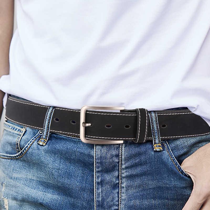 Dinisiton Kasual Sabuk untuk Pria Desain Mewah Man Fashion Sabuk Tren Celana Pinggang Tali Berkualitas Tinggi Dropshipping