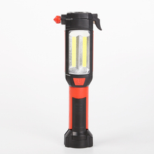 LED Glare Practical Flashlight Outdoor Emergency Lighting Rechargeable Multi-function Small Portable Remote Security