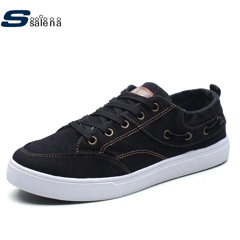 Plate-forme Denim chaussures hommes respirant maille extérieure chaussures décontractées hommes mode haute qualité AA10242