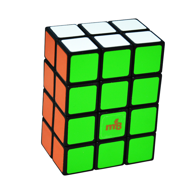 New Brand MF8 2x3x4 Cube Black TomZ & MF8 Full Function Puzzle Magic Cube Twist Puzzle Toy 2*3*4 Cube mf8 curvy copter iii magic cube puzzle black and stickerless learning