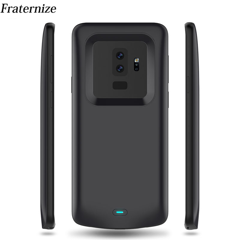 9e96d4b21 5200mAh Slim battery case For Samsung Galaxy S9 Plus Silicone shockproof  Rechargeable power bank Charging Cover