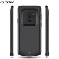 5200mAh Slim battery case For Samsung Galaxy S9 Plus Silicone shockproof Rechargeable power bank Charging Cover For Samsung S9
