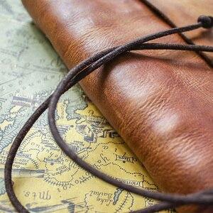 Image 4 - Junetree ของแท้หนัง Handmade A6 A5 B5 VINTAGE Retro Travel Journal สมุดบันทึก Notepad ของขวัญวันวาเลนไทน์