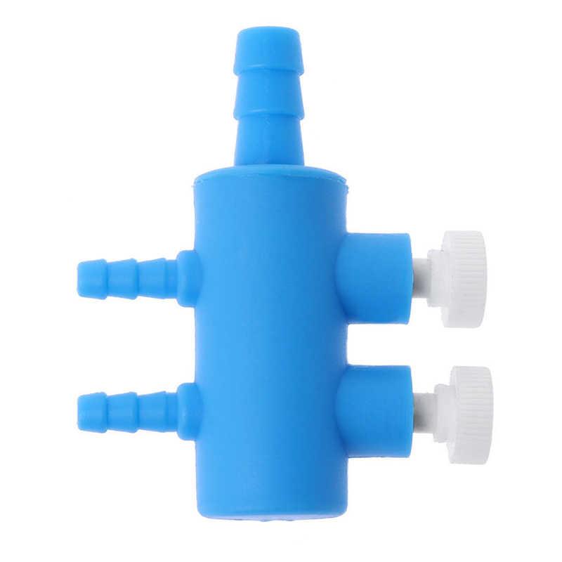 1 шт. аквариумный аквариум воздушный поток 2 3 4 5 6 каналов розетки пластмассовый разделитель кислородный разделитель рычажный клапан для пруда соединитель для пневмонасоса